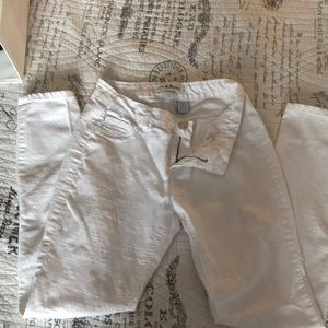 Winter White Skinny Jeans | Love Nation | 8
